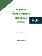 Plant Breeders Handbook