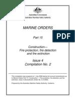 Marine Orders Part 15