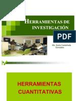 HERRAMIENTAS DE LA INVESTIGACIÓN DE MERCADOS