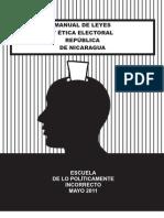 Manual de Leyes y Etica Electoral
