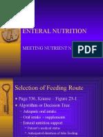 Enteral Nutr- Meeting Needs