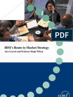 IBM Route to Market Strategy