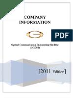 Ocesb Company Profile 2011