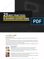 25 Best Practices in Banner Advertising