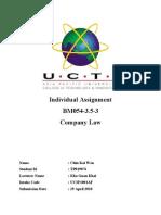 CL Assignment