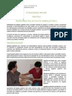 Standarde Minime INGRIJIRI PALIATIVE Ambulatoriu