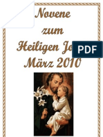 Novene zum Hl. Josef