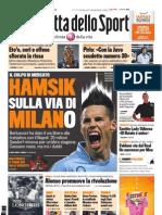 Gazzetta dello Sport - 26 Maggio 2011
