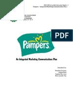 Pampers Imc Plan