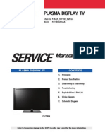 Samsung FP T5884 Service Manual