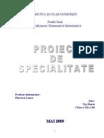Proiect Access