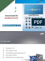 Evan Manolis, Samsung, Samsung Smart TV