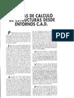 1992-6 Sistemas de cálculo de Estructuras desde entornos de CAD