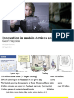 Geof Hayden, Alcatel-Lucent Australia, Innovation in Mobile Devices and Payment
