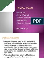 FORMULASI Facial Foam