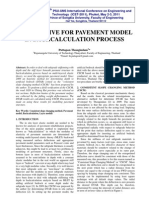 Alternative for Pavement Modelling