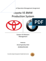 Big Paper-Toyota vs BMW Production System