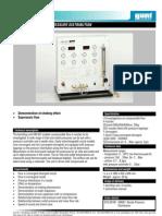 Nozzle Pressure Distribution Test