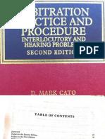 Arbitration Practice and Procedure