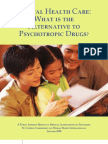 What is the Alternative to Psychotropic Drugs White Paper