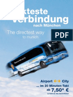 Lufthansa Airport Bus Flyer 2010