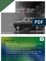 4928421 Hindustan Motors Case Study Ppt
