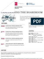 CHALLENGING THE BOARDROOM
