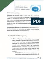 relatorio gestao 2009..