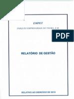 relatorio gestao 2010..