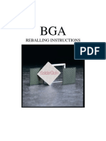 102003BGA Reballing Instruction Manual