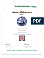 Reliance life Insurence  projected by sudhakar chourasiya Maihar