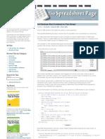 Excel Formula Tips 1