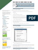 Excel Formula Tips 3