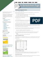 Excel Formula Tips 5