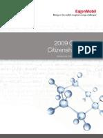 1275354520 ExxonMobil 2009 Citizenship Report