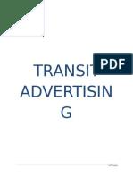 Transit Advertising Final
