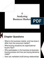 Chapter 6 - Analyzing Business Markets
