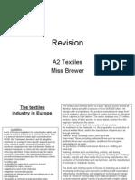 Basic textile revision