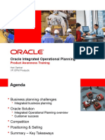 Integrated Operations Planning