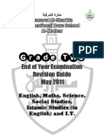 G2 End of Year Revision Guide [May 2011]