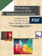 Health Psychology