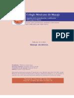 Colegio Mexicano de Massagem - Manual Ayurveda 2006