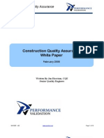 Construction Quality Assurance Whitepaper 2005[1]