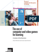 The Use of Computer and Video Games for Learning