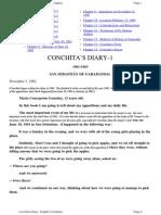 Conchitas Diary English