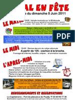 Programme Du Dimanche 5 Juin Maj 23 05