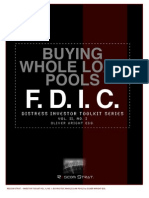 Distress Investor Tool Kit - Buying Failed Bank Whole Loan Pools from the FDIC
