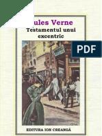 30 Jules Verne - Testamentul Unui Excentric 1981