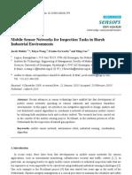 Article Mobile Sensor Networks Sensors 2010