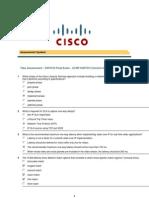 CCNP 3 Final Exam v6.0